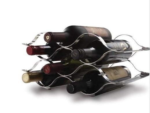 Botellero de rejilla inspira regalos - Botelleros de diseno ...